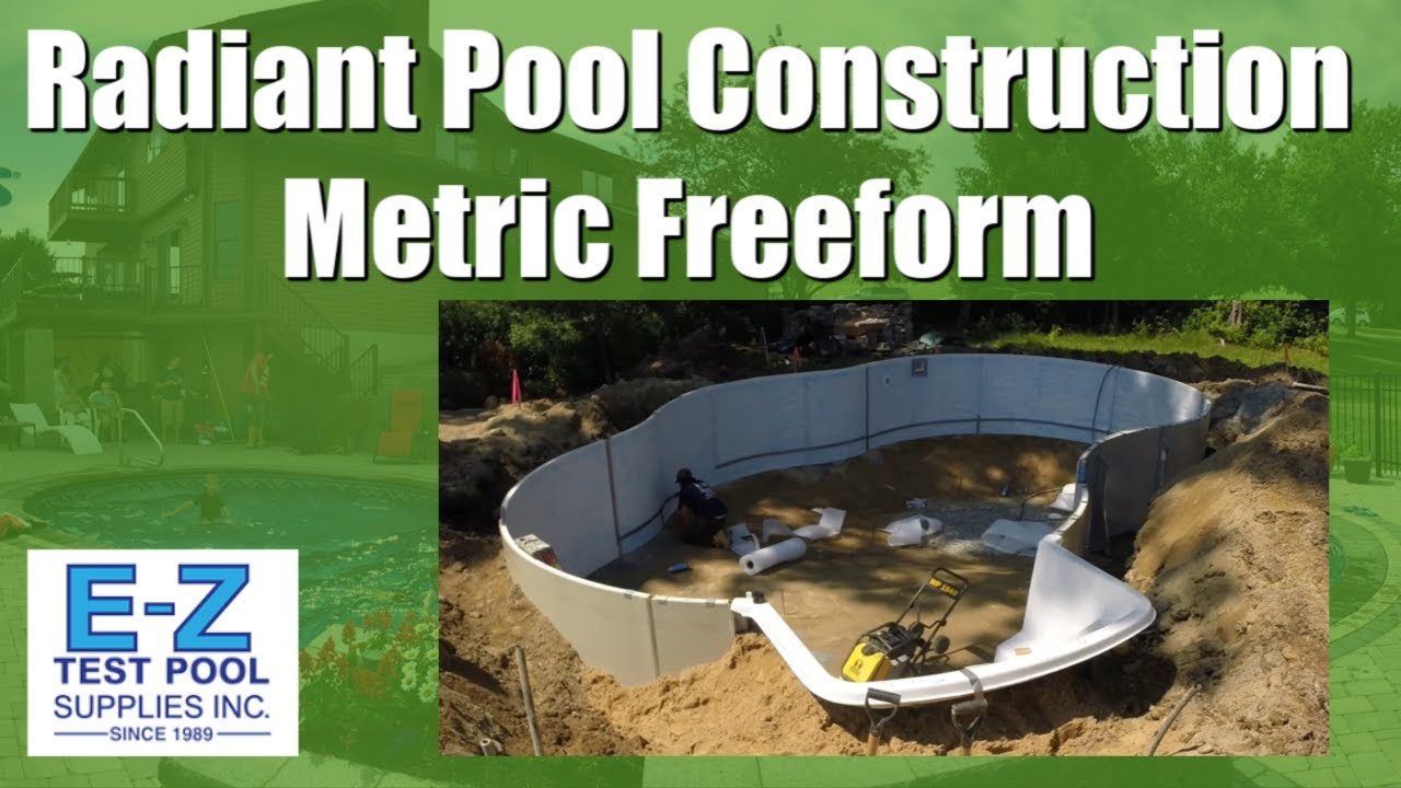 Radiant Swimming Pool Construction Quot Metric Series