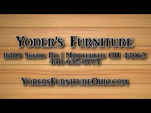 Yoders Furniture Middlefield Ohio Amish Furniture Store Youtube
