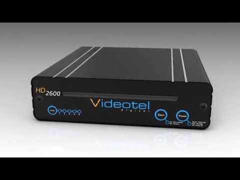 HD2600 Animated Visual Of Top, Sides And Front