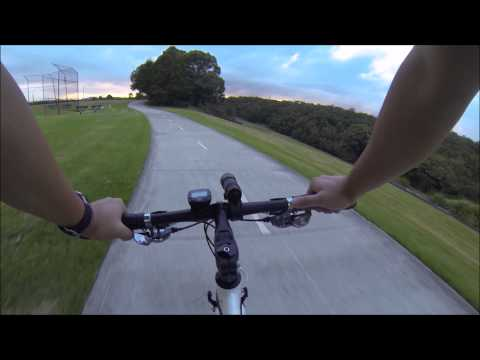 Morning cycling from Rydalmere to Meadowbank via Parramatta Valley Cycleway