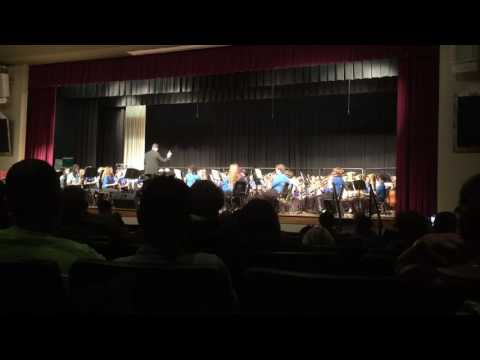 A Canadian Christmas, Sangaree Middle School Advanced Band