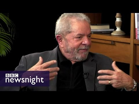 Luiz Inacio Lula da Silva: Exclusive interview - BBC Newsnig