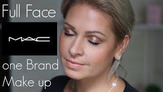 MAC ONE BRAND Makeup Tutorial 2018 I Meine MAC Favoriten und Full Face Look I Mamacobeauty
