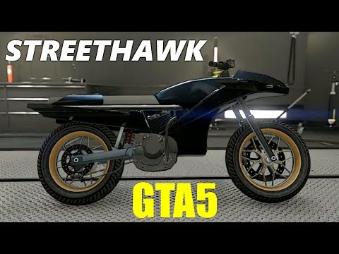 GTA5 NOW HAS STREET HAWK! THANK YOU ROCKSTAR.