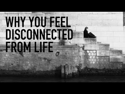 Why You Feel Disconnected From Life
