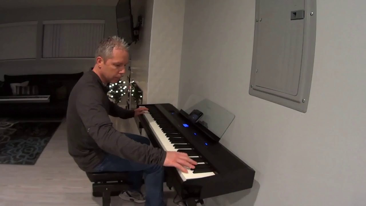yamaha p 515 digital piano youtube. Black Bedroom Furniture Sets. Home Design Ideas