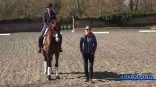 Dressage Rider Anna Ross-Davies - How To Ride A Correct 20m Circle