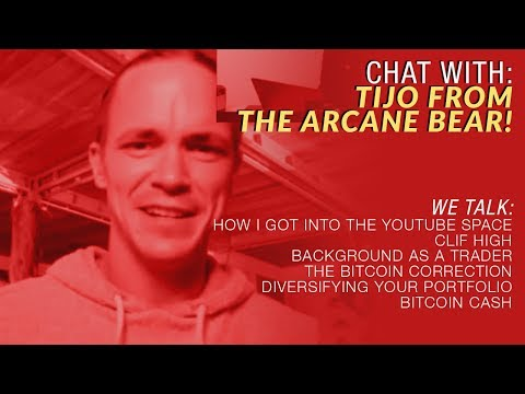 Crypto Blood and Tijo from The Arcane Bear Talk Cryptos!