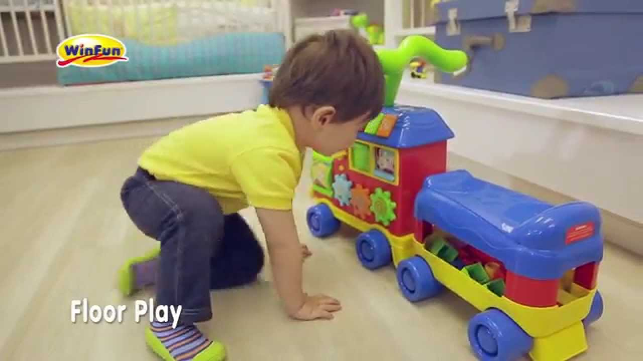 Perfect (Winfun) Walker Ride On Learning Train   YouTube