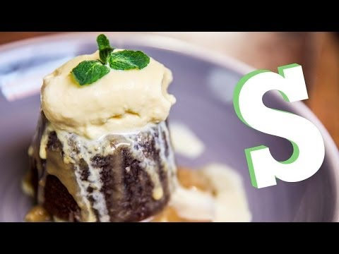 How To Make Sticky Toffee Pudding Recipe - Homemade by SORTED
