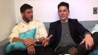 Jax and Tom Talk Celebrities visiting SUR