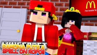 Minecraft Adventure - RAMONA PUTS A SPELL ON LITTLE ROPO!!!