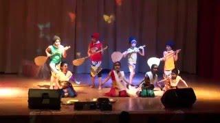 Maharashtra Mandal Kuwait - Pihu -Koli Dance -2015