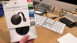 Google Chromecast Ultra Unboxi…