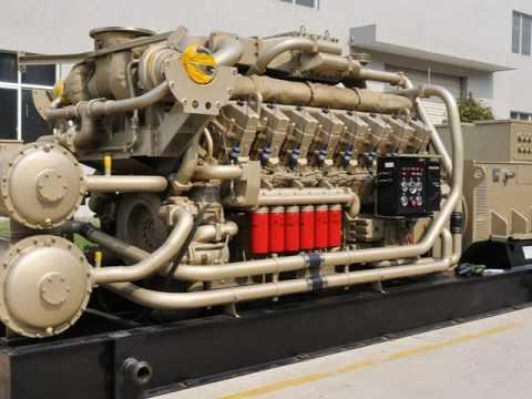 Tide Power System gas generator sets