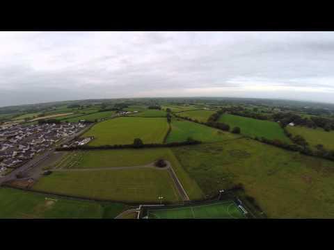 Ahoghill from the air
