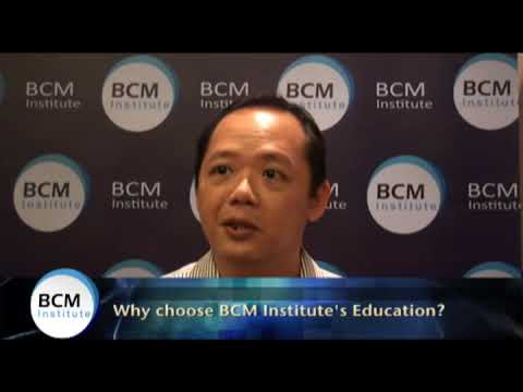 Robin Lim, AETOS Security Management - Why he Chooses BCM Institute?