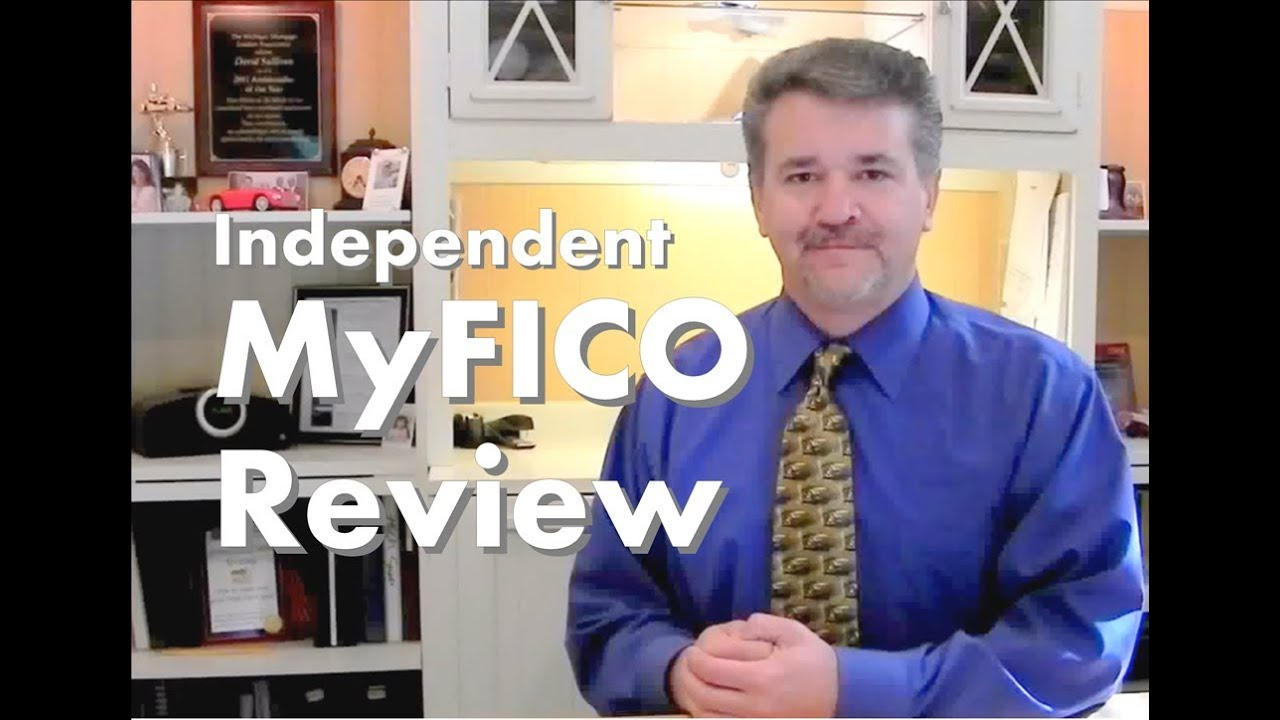 Myfico Fico Score Credit Report Review Video
