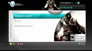 Assassins Creed 2 Uplay feature