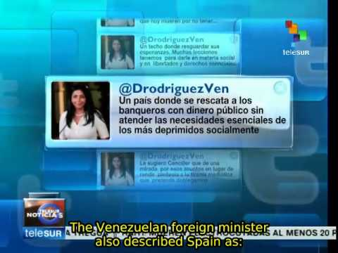 Venezuela rejects statements of Spanish Foreign Minister