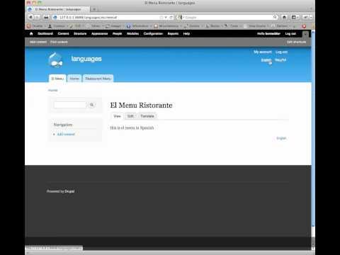 Create Multi-Language Menus in Drupal 7 thumbnail