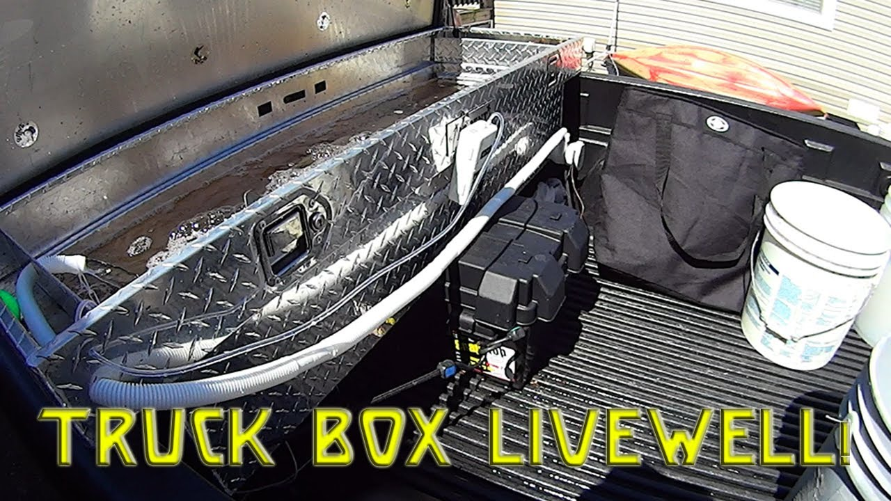 Truck Box Tool Box Livewell Youtube