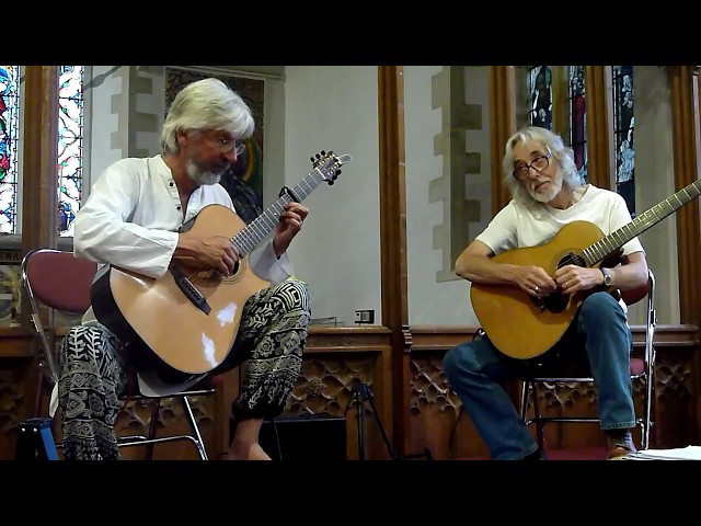 Gordon Giltrap and Nick Hooper play Si Bheag, Si Mhor