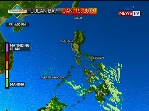 BP: Weather update as of 4:18 p.m. (January 18, 2018)