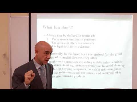 Bank Management - Lecture 02