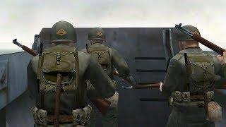 ЭПИЧНАЯ ВЫСАДКА В НОРМАНДИИ Medal Of Honor Allied Assault прохождение