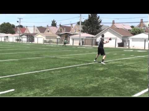 Paddy Devlin St. Patrick High School 2016 Quarterback Throwing Workout