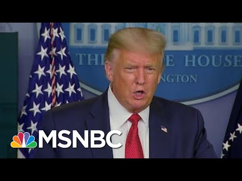 Trump Suggests Flu Of 1918 Ended WWII In 1945 | Morning Joe | MSNBC