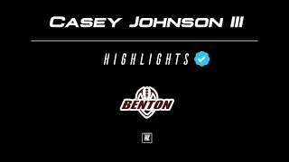 Future All-American 🇺🇸 Casey Johnson III Highlights 🔥 Benton Panthers RB ᴴᴰ