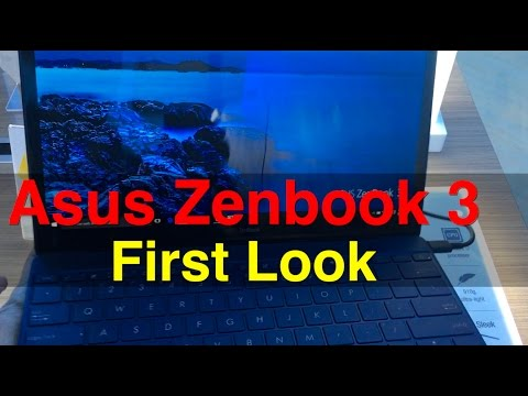 Asus Zenbook 3 First Look | Digit.in