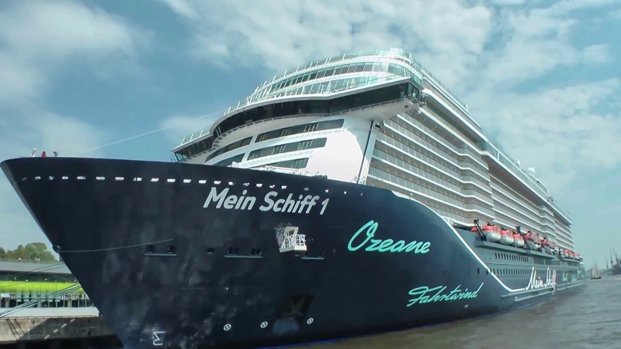 Live Neue Mein Schiff 1 Bereit Für Die Taufe In Hamburg Hafengeburtstag 2018