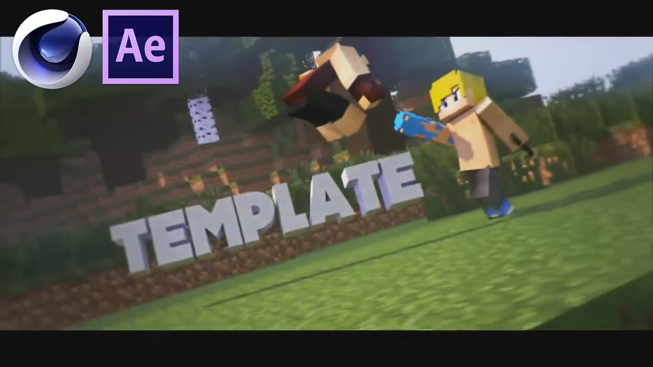 Free Minecraft Battle Intro 1 166 Cinema 4d Ae Template