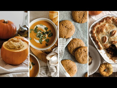 PUMPKIN 7 WAYS �� Easy Autumn/Fall Recipes ��