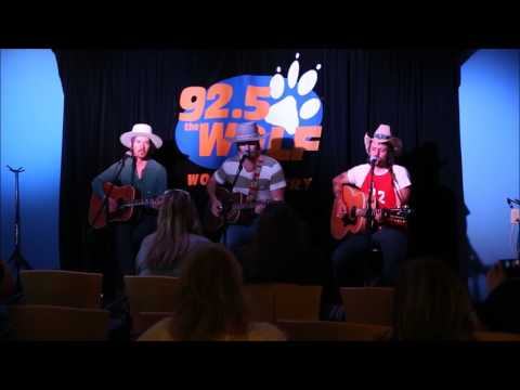 Midland - Drinkin Problem - Live from the WOLF Den @ 92.5 The WOLF