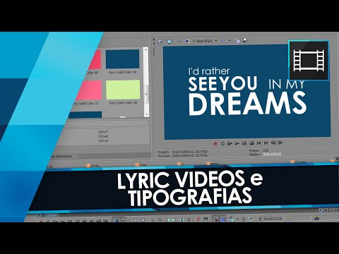 sony vegas pro 10 how to add text over video