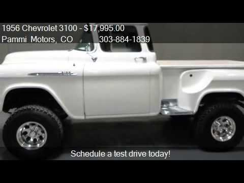 1956 Chevrolet Apache Custom 3100 Big Window 4wd Napco Tribute Youtube