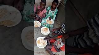 Lunch at Forum for children Rights Uganda