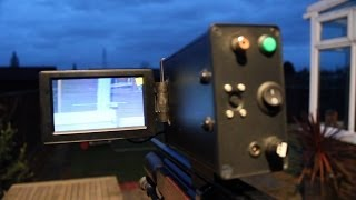 Pitch Black Hunter night vision screen shots and gun mounting