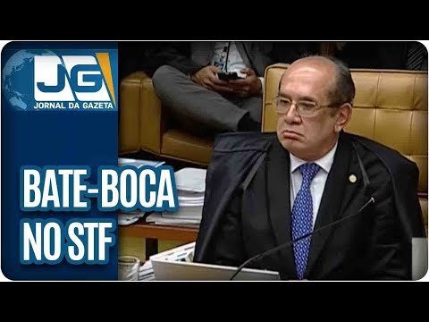 Bate-boca entre Gilmar e Barroso no STF