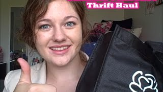 Summer Collective Thrift Haul Thumbnail