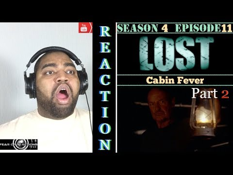"LOST 4x11 ""Cabin Fever"" (Part 2/2) Reaction"