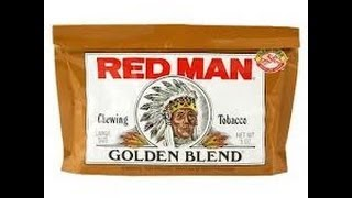 Red Man Golden Blend Original Loose Leaf [chewing Tobacco] -- Raisins In A Pouch!