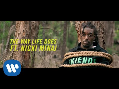 Mix - Lil Uzi Vert - The Way Life Goes Remix (Feat. Nicki Minaj) [Official Music Video]