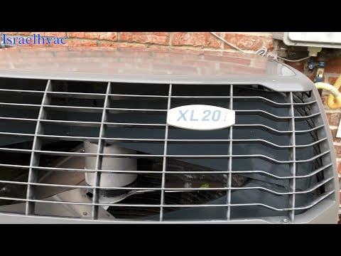 HVAC Trane XL20i With Error Code YouTube