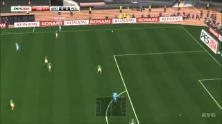 PES 2014 - Argentina vs  Bolivia Gameplay - Xbox 360 [HD]