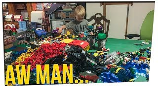 Man's $7k Lego Collection is Stolen! ft. Gina Darling & DavidSoComedy